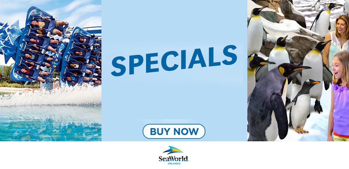 SeaWorld Specials